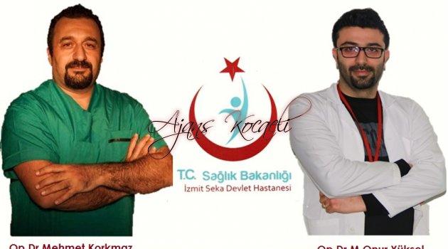 3 ileti dizisinden 3.   İzmit Seka Devlet Hastanesi'nde Beyin Tümörü Ameliyatı Yapıldı