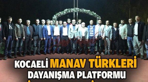 Bir kınamada Manav Türklerinden