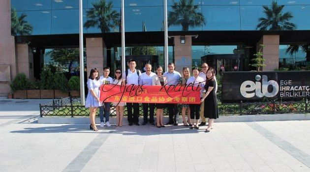 Çinli gıda ithalatçıları Türk lezzetlerini ithal etmek için Türkiye'ye geldi