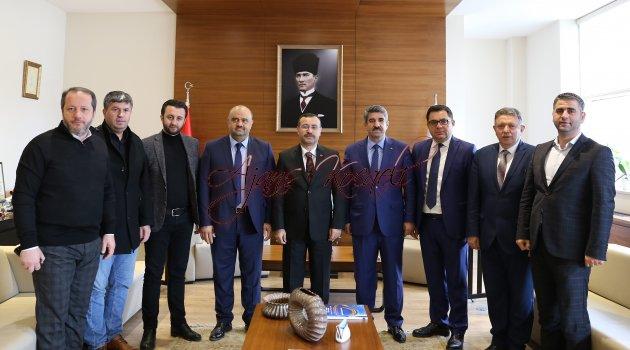 Cumhuriyet Başsavcısı Korkmaz'dan  KOTO'ya iadeyi ziyaret etti