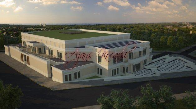 Darıca'ya dev spor salonu