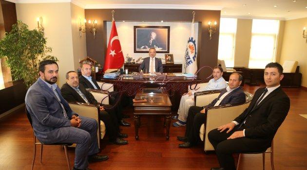 Erzurumlular Köşker'e geldi
