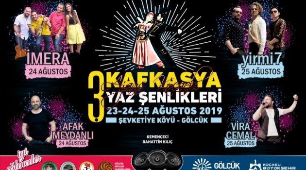 Gölcük  Kafkasya Yaz Şenlikleri 23 Ağustos'da