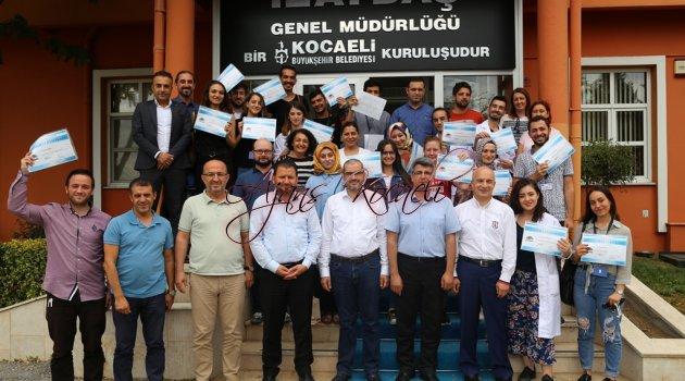 İZAYDAŞ Akademi 42. mezunlarını verdi