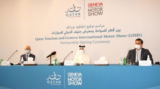Katar Turizm ve Uluslararası Cenevre Otomobil Fuarı'ndan İş Birliği