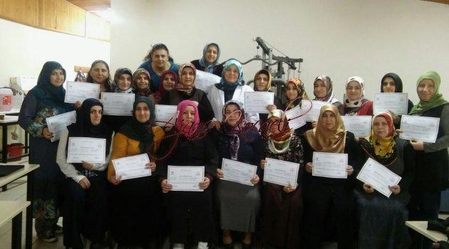 DER-MEK'li kursiyerler sertifikalarına kavuştu