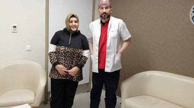 Obez Hastaya Tüp Mide Operasyonu