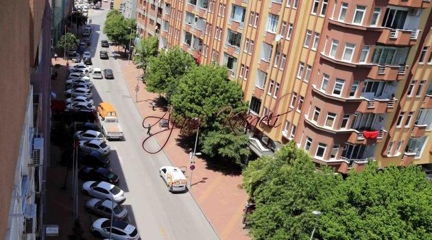 Şehabettin Bilgisu Caddesi'nde Akçaray çalışması