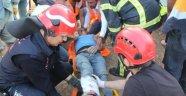 Kuzey Marmara Otoyolu İnşaatında Göçük: 2 Yaralı