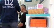 Baliciler, 2'si Bebek 5 Kişiyi Hastanelik Etti