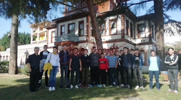 UNESCO Kulübü Öğrencileri Kocaeli'nin Kültürel miras gezisi